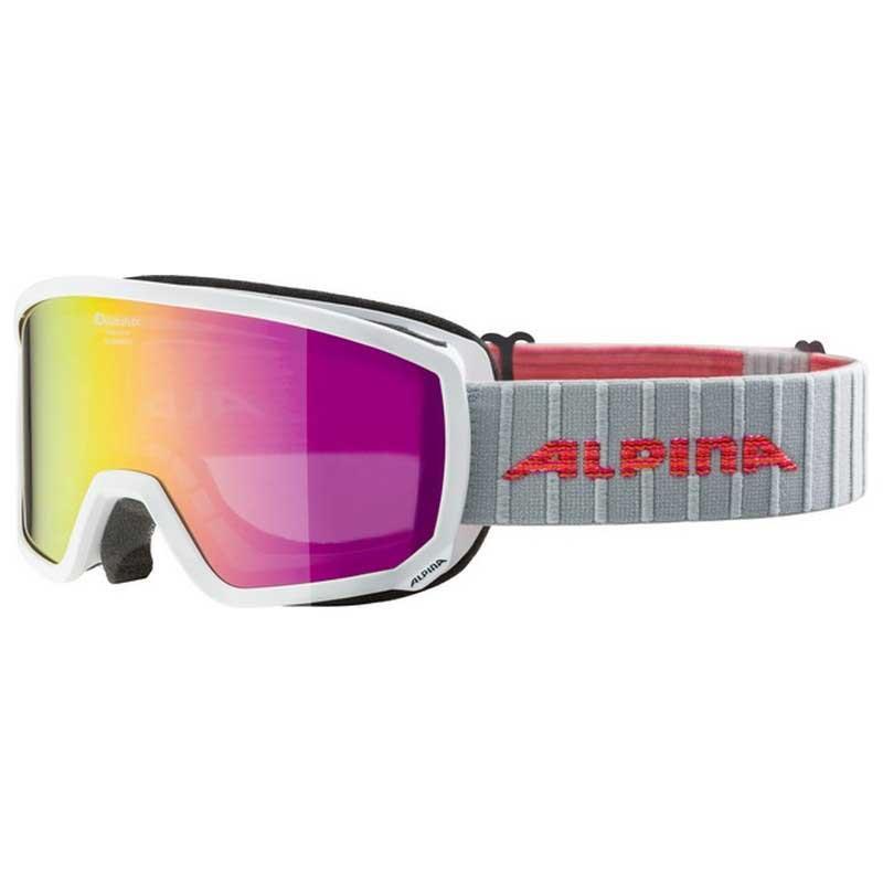 Alpina Scarabeo S Mm White , Alpina Masques de ski Alpina , , ski , Protections 04a205