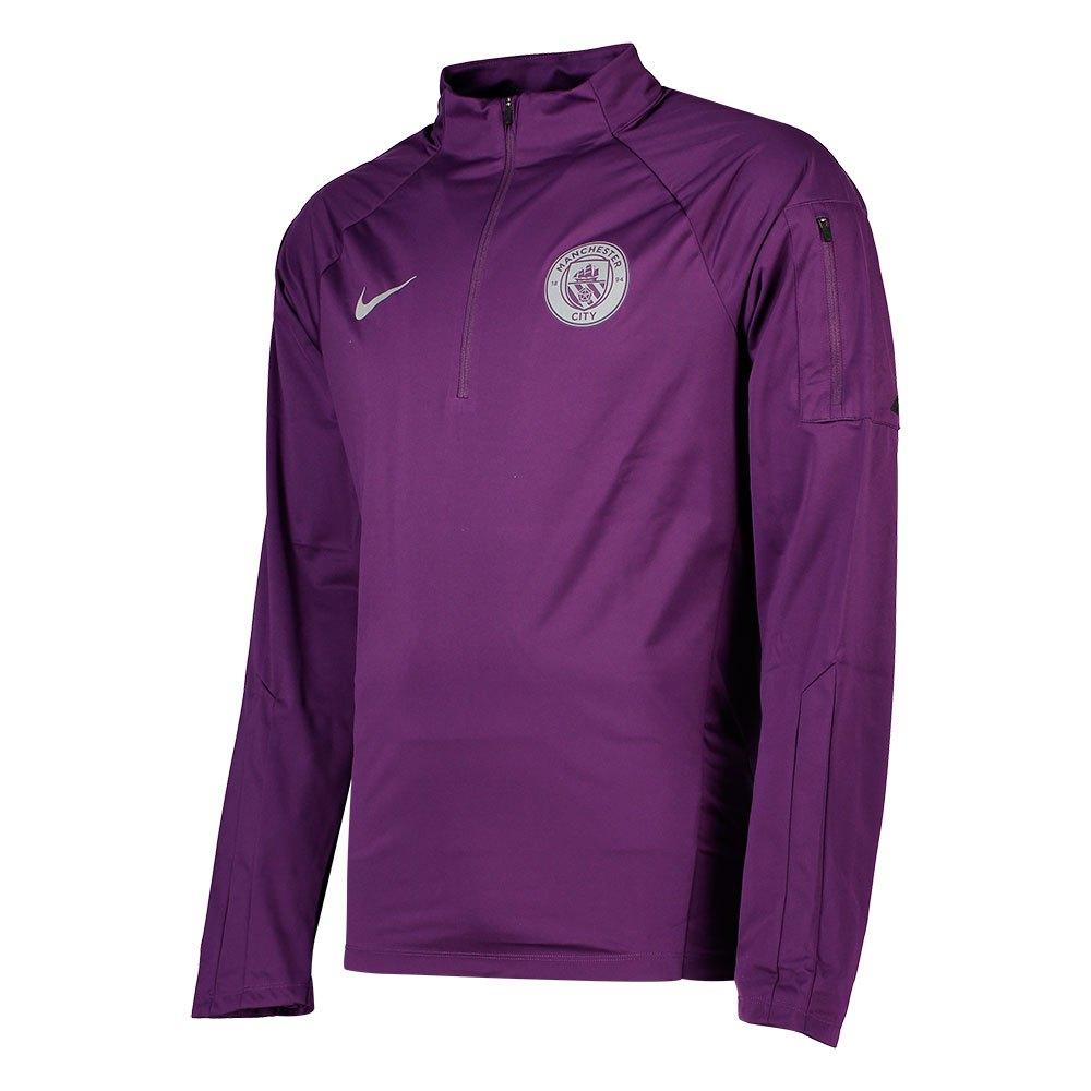 Nike Manchester City Fc Shield Squad Drill 18/19 XL Night Purple / Safety Orange