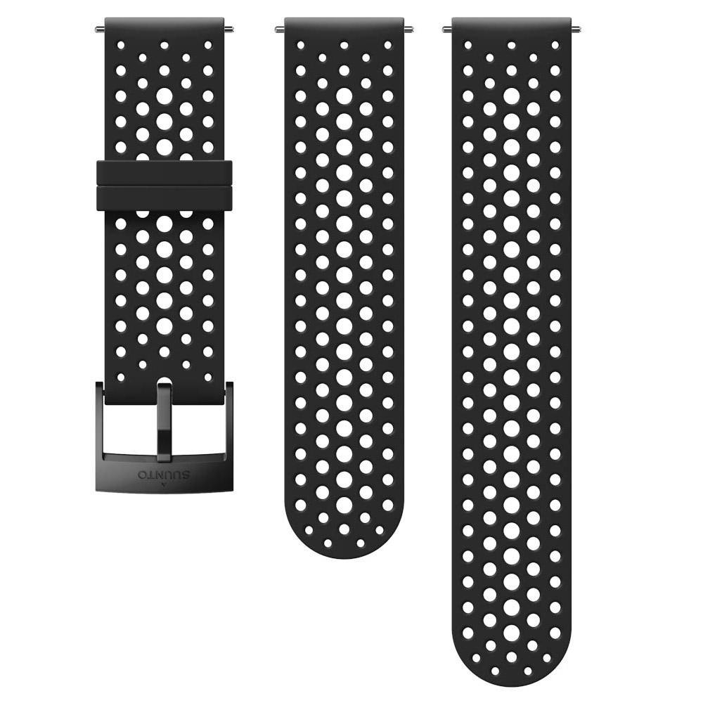 Suunto Athletic 1 Silicone Strap One Size Black
