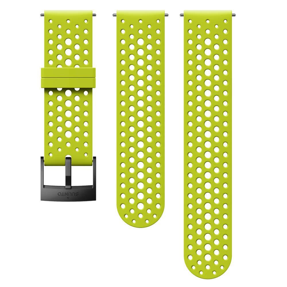 Suunto Athletic 1 Silicone Strap One Size Lime / Black