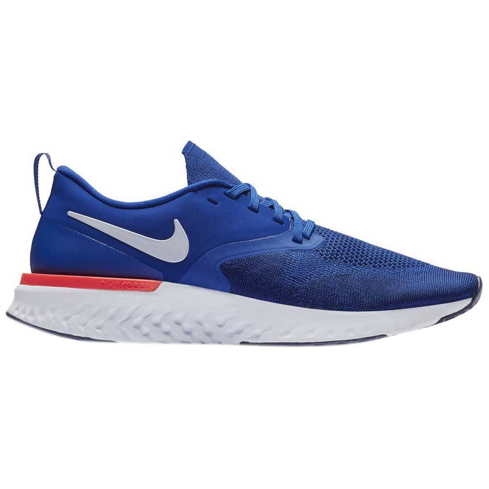 Nike Odyssey React 2 Flyknit EU 45 1/2 Indigo Force / White / Blue Void
