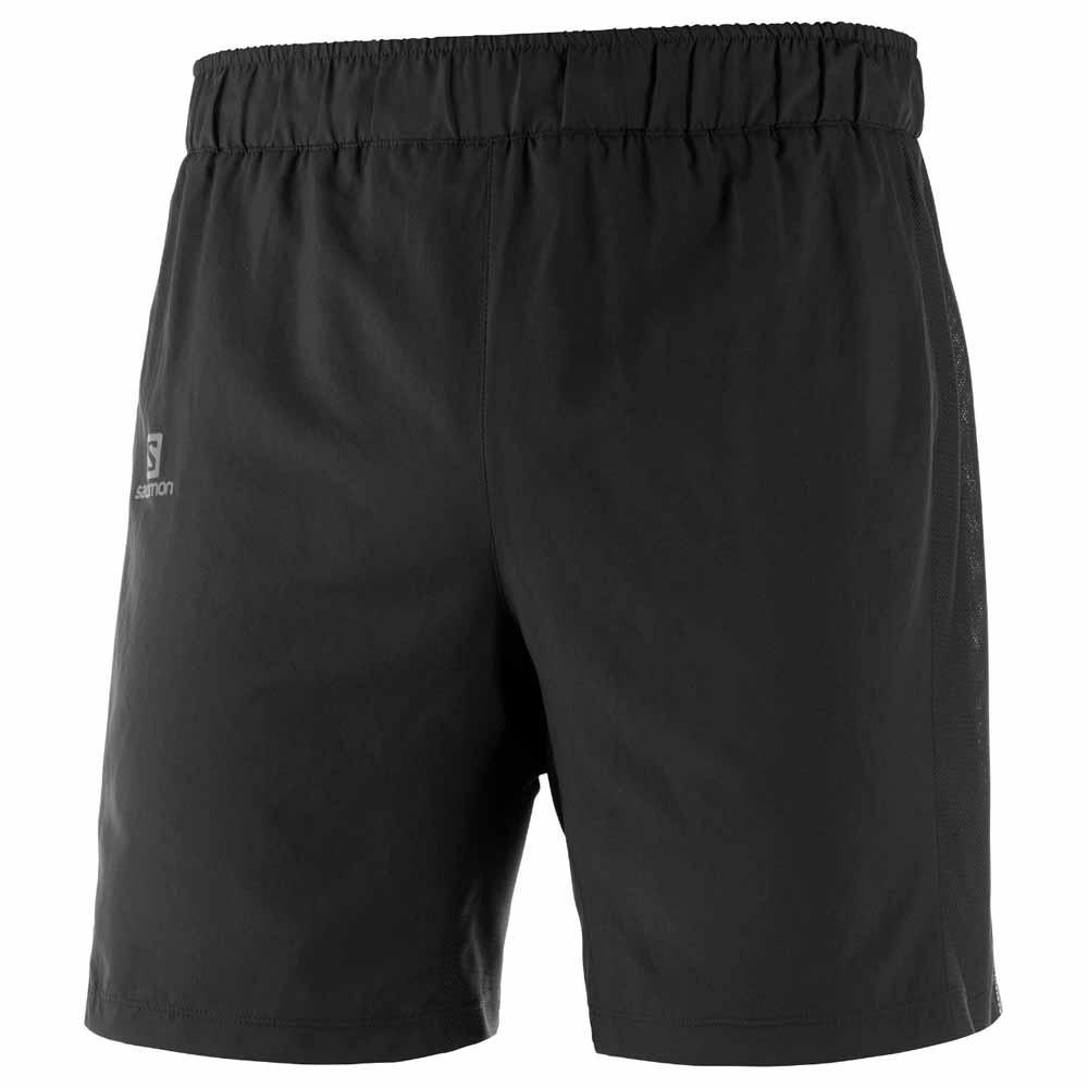 Salomon Pantalones Cortos Agile 2 In 1 XXL Black