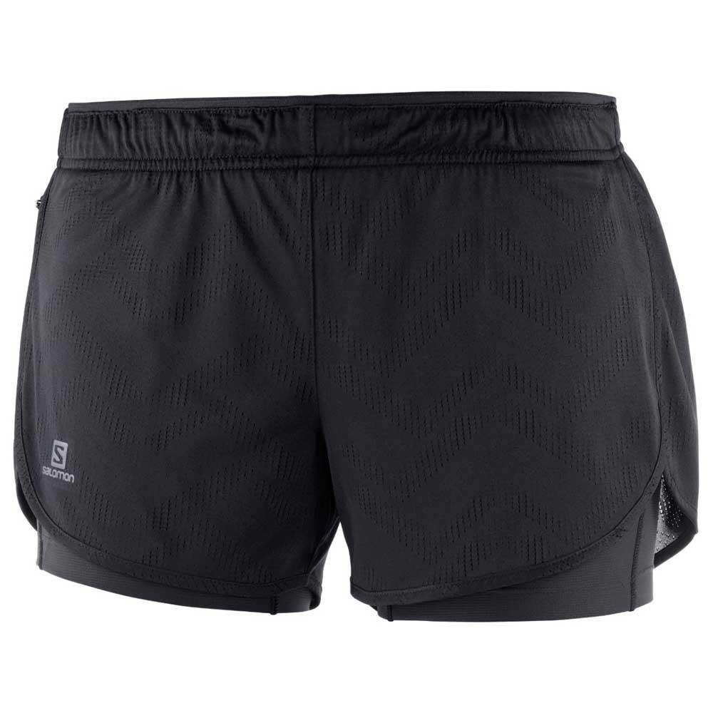 Salomon Agile 2in1 Short XL Black