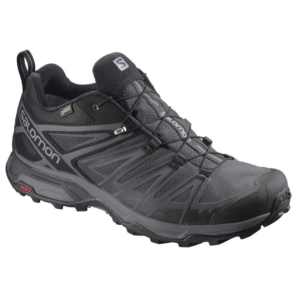 Salomon X Ultra 3 Wide Goretex EU 40 2/3 Black / Magnet / Quiet Shade