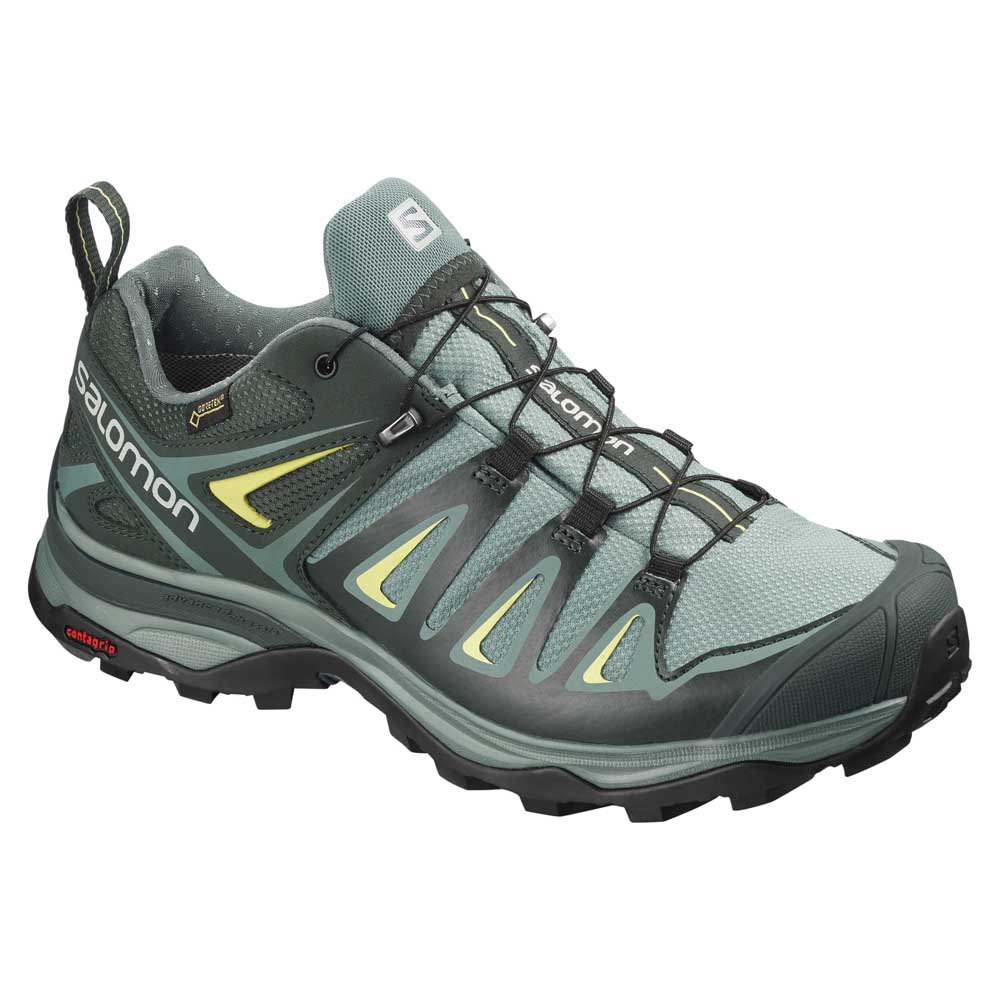 Salomon X Ultra 3 Wide Goretex EU 37 1/3 Artic / Darkest Spruce / Snny Lime