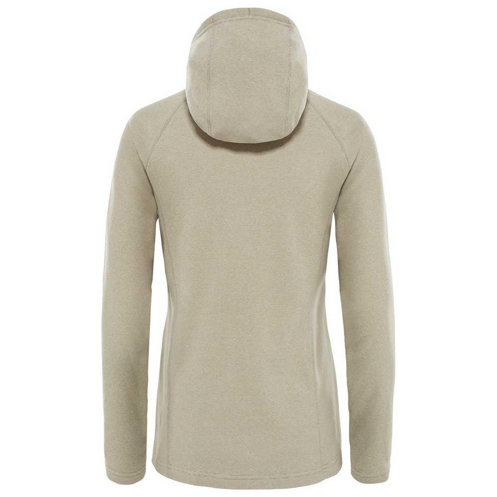 The-North-Face-Mezzaluna-Full-Zip-Hoodie-Gris-T26452-sudaderas-Mujer-Gris miniatura 4