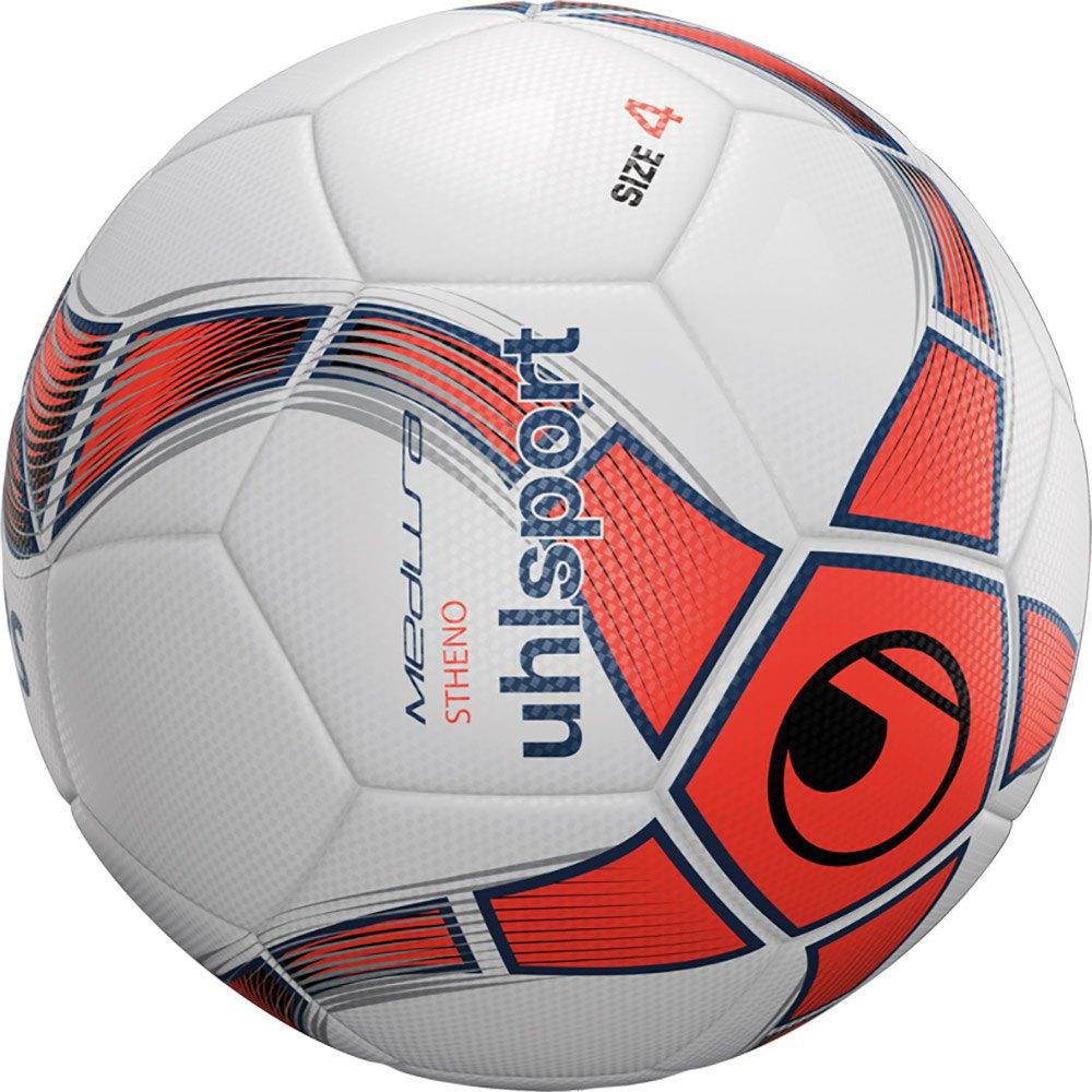 Uhlsport Medusa Stheno Football Ball 4 White / Fluo Red / Navy