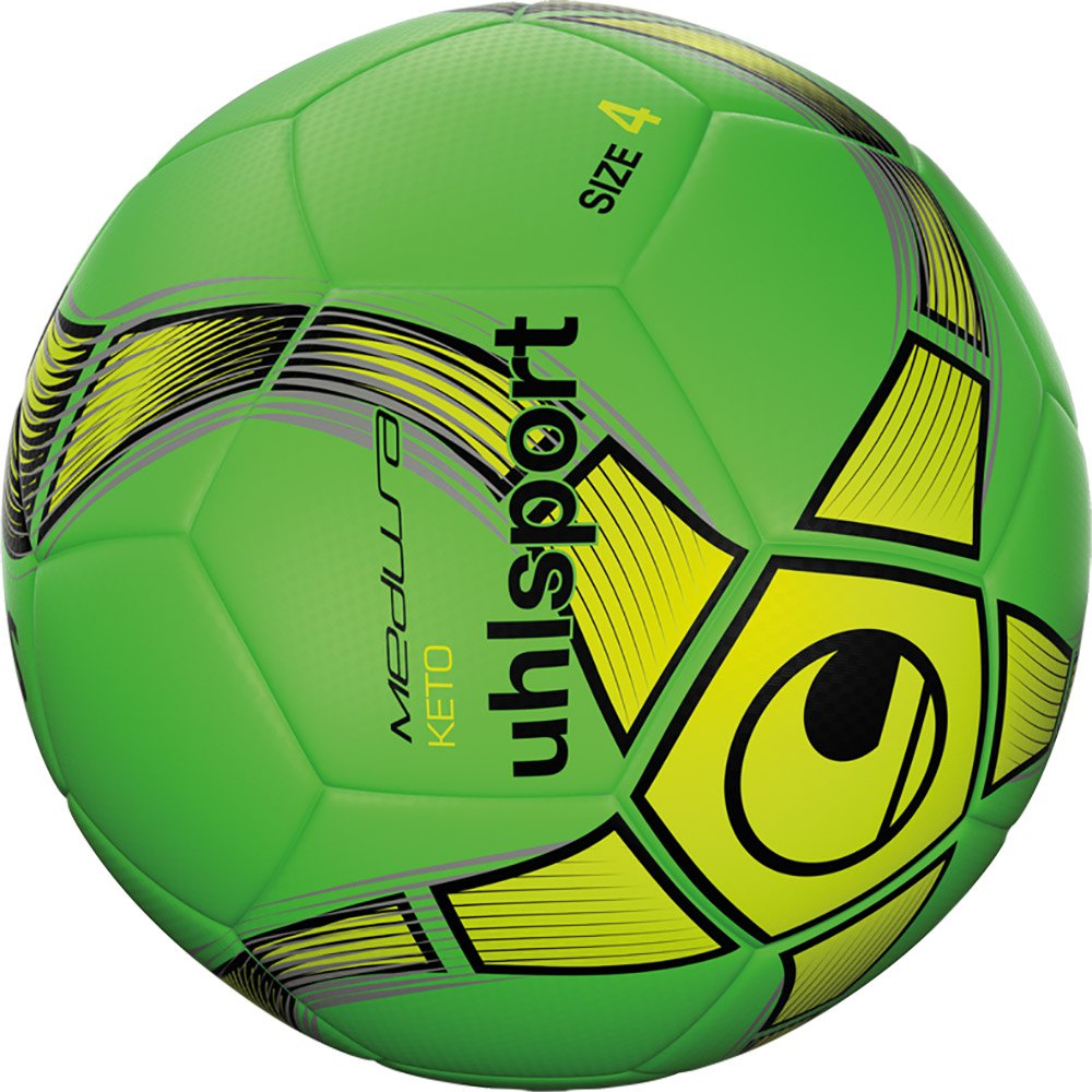 Uhlsport Medusa Keto Football Ball 4 Fluo Green / Fluo Yellow / Black