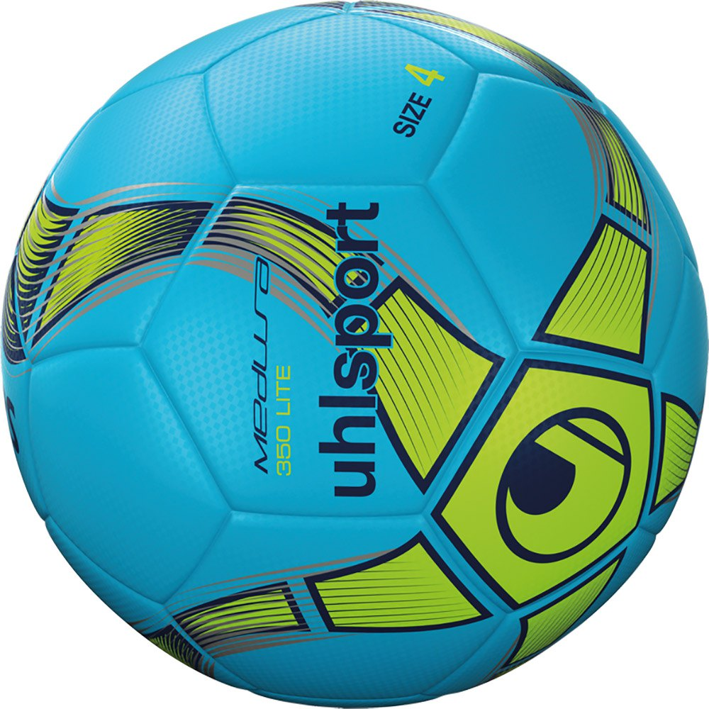 Uhlsport Medusa Anteo 350 Lite Indoor Football Ball 4 Ice Blue / Fluo Yellow / Navy