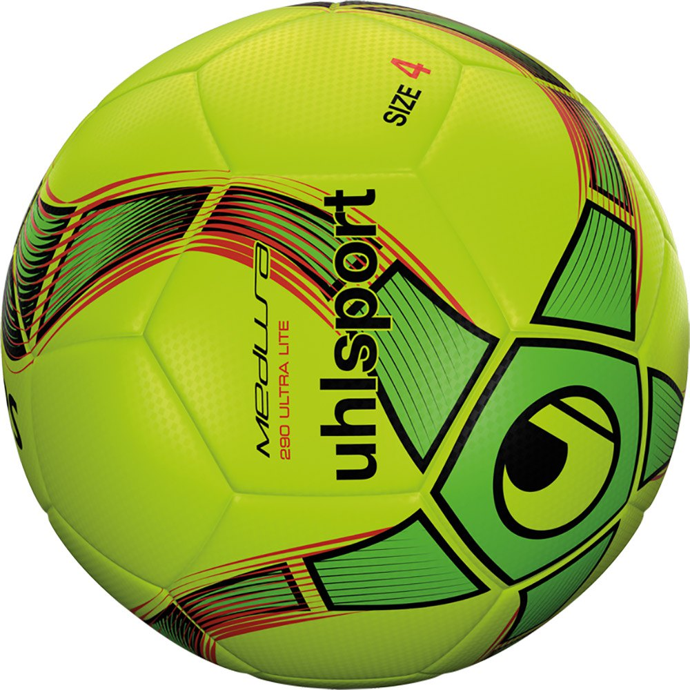 Uhlsport Medusa Anteo 290 Ultra Lite Indoor Football Ball 3 Fluo Yellow / Fluo Green / Black