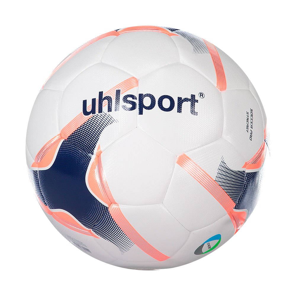 Uhlsport Pro Synergy Football Ball 5 White / Navy