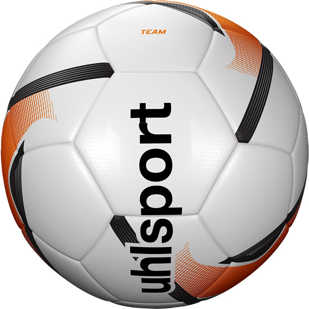 Uhlsport Team Football Ball 5 White / Fluo Orange / Black