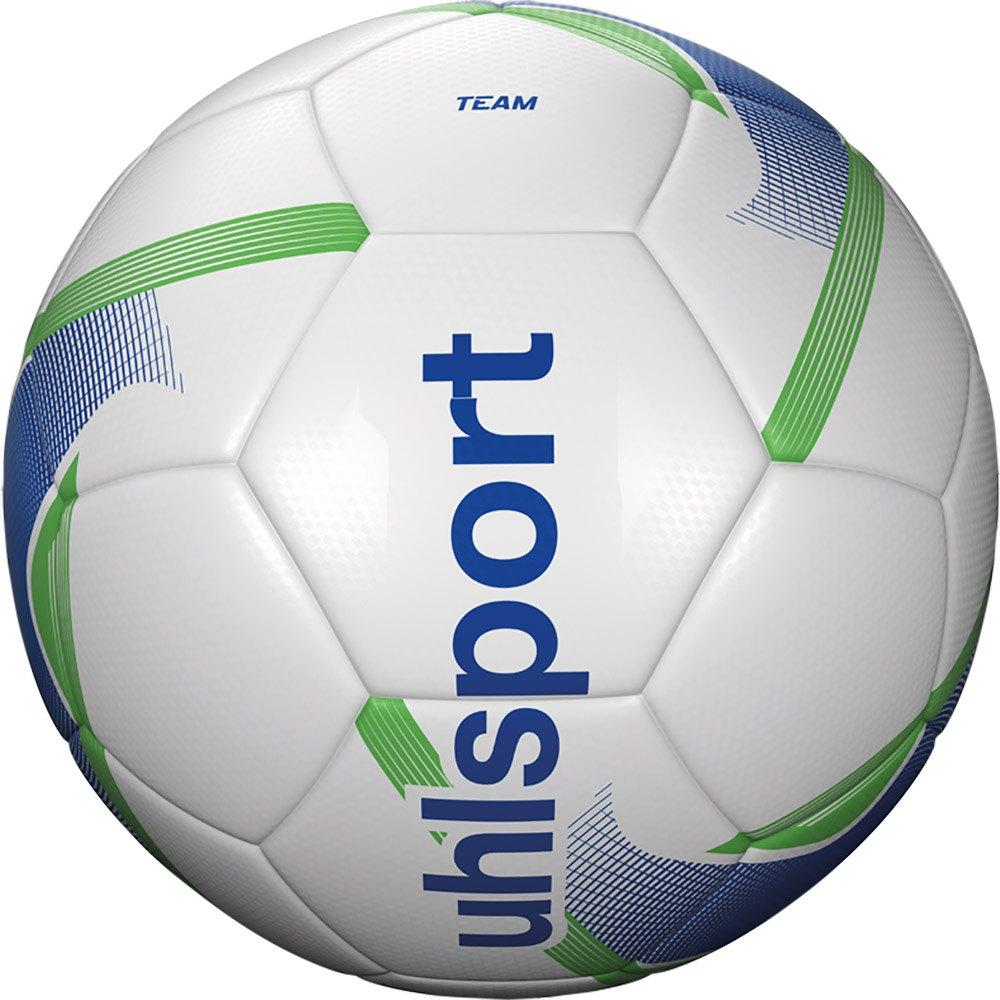 Uhlsport Team Football Ball 4 White / Blue / Fluo Green