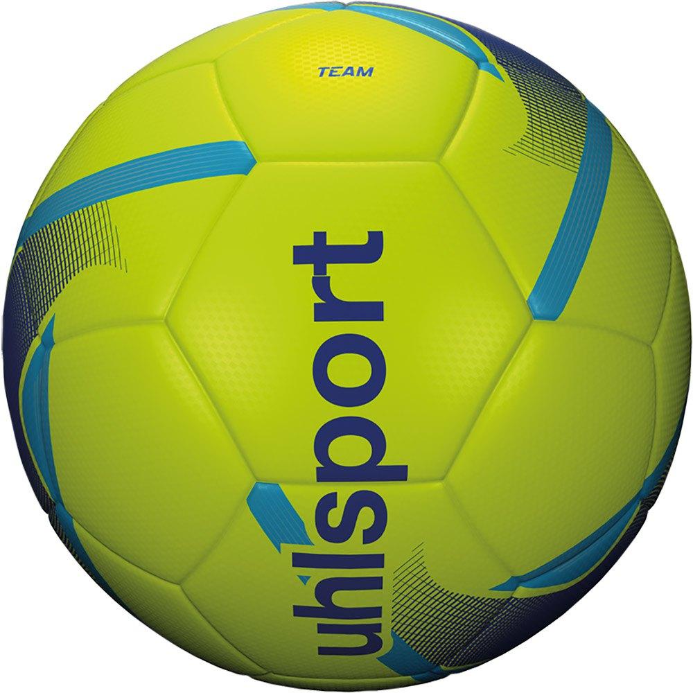 Uhlsport Team Football Ball 4 Fluo Yellow / Blue / Cyan