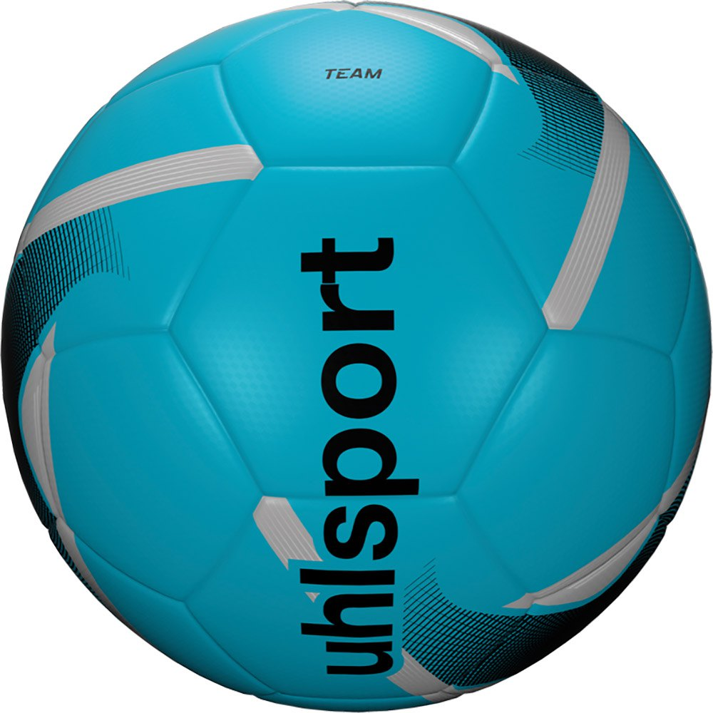 Uhlsport Team Football Ball 3 Ice Blue / Black / Silver