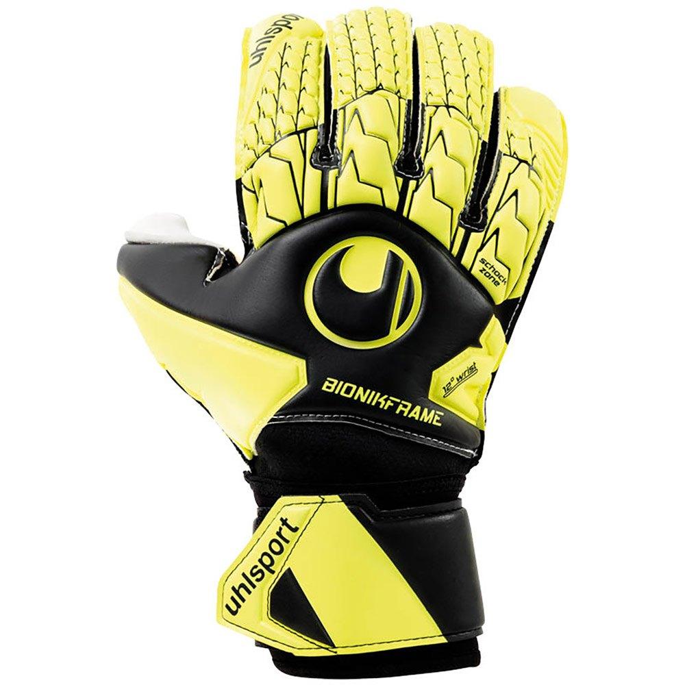Uhlsport Absolutgrip Bionik 9 Black / Fluo Yellow