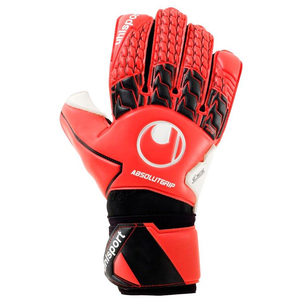 Uhlsport Absolutgrip 10 Red / Black / White