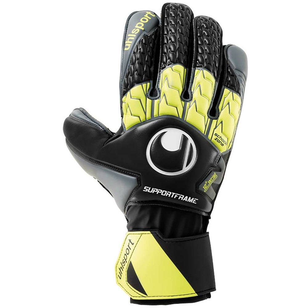 Uhlsport Soft Sf 8 1/2 Black / Grey / Fluo Yellow