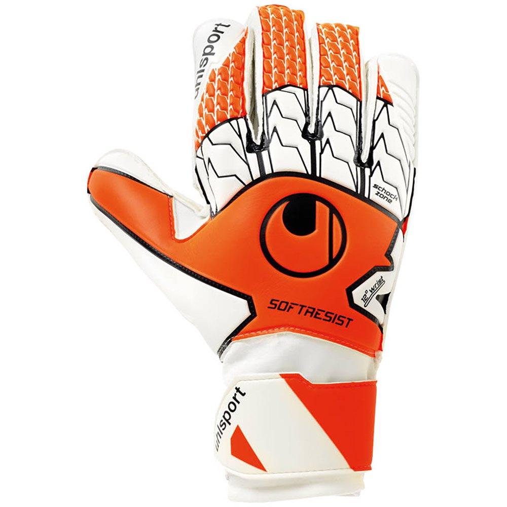 Uhlsport Gants Gardien Soft Resist 10 Fluo Orange / White / Black