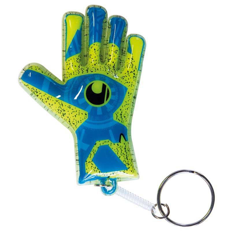 Uhlsport Radar Control Mini Glove 25 Units One Size Radar Blue / Fluo Yellow / Black