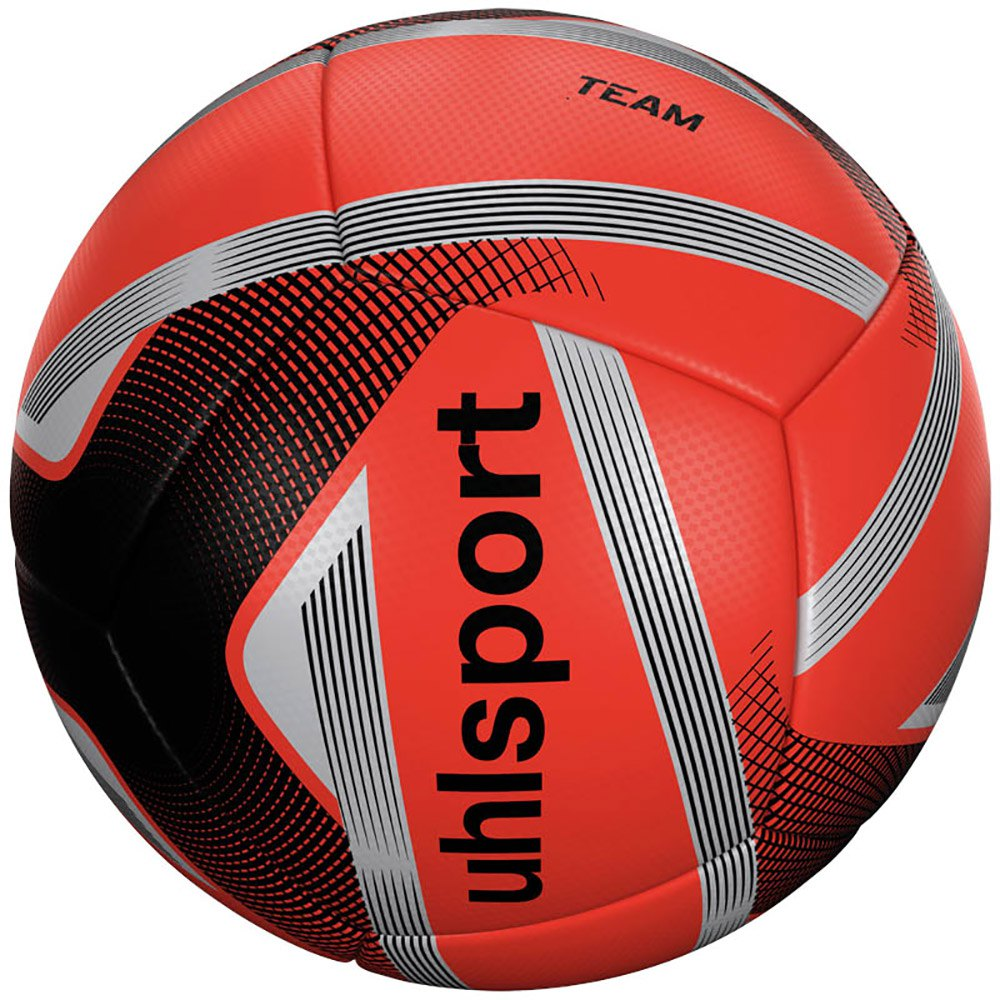 Uhlsport Team Mini Football Ball 4 Units One Size Fluo Orange / Black / Silver