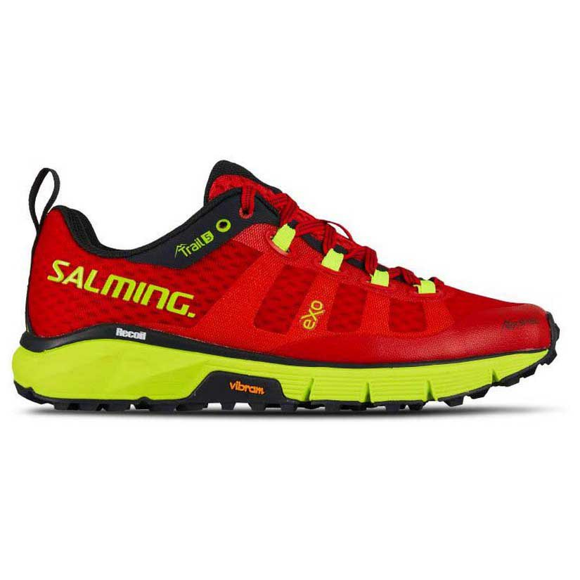 Salming Trail 5 EU 36 Poppy Red / Safety Yellow