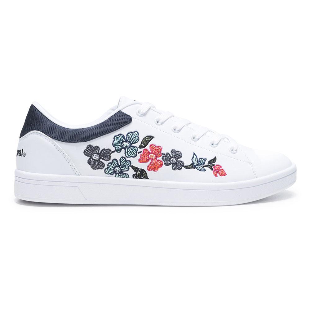 Desigual  Sneakers Retro Court Geopatch Weiß , , Weiß Sneakers Desigual , fitness c78408