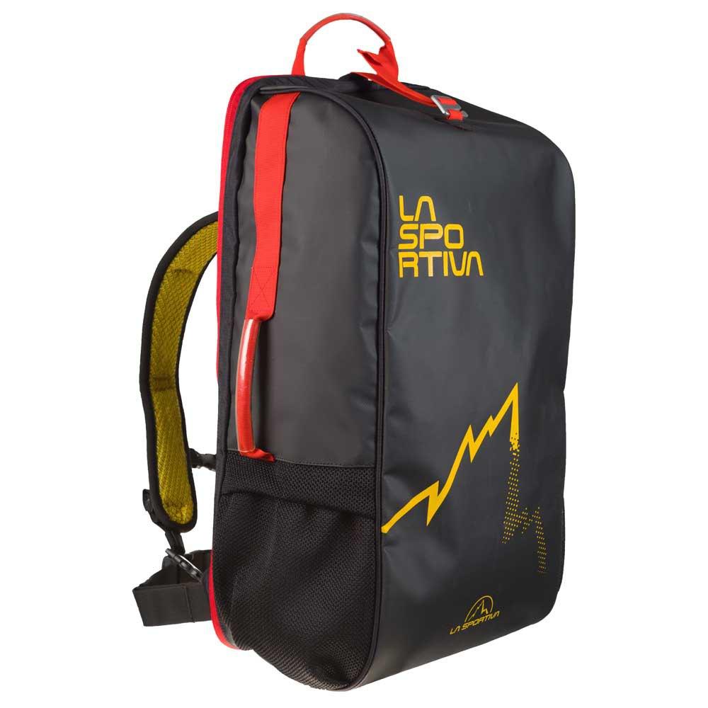La Sportiva Sac à Dos Travel 45l One Size Black / Yellow