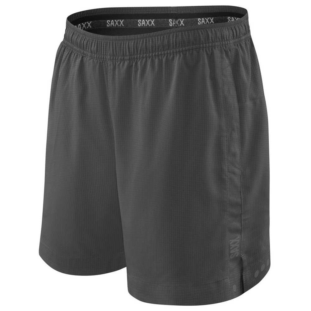 Saxx Underwear Short Kinetic 2 In 1 Sport L Dark Charcoal