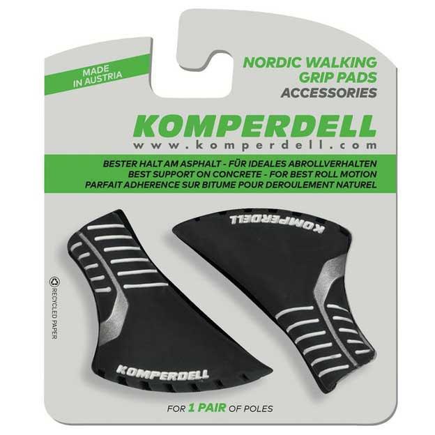 Komperdell Nordic Walking Pad Pair One Size Black / Silver