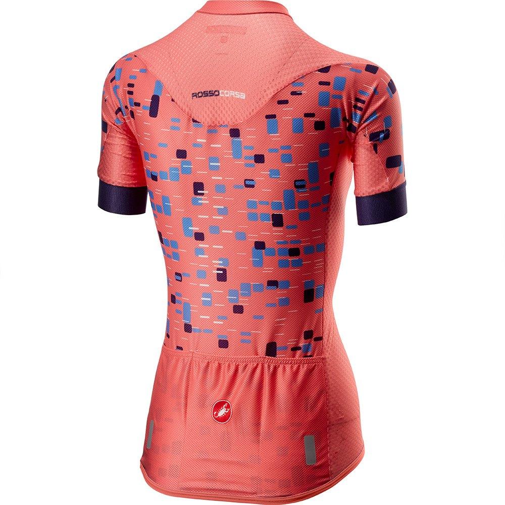 Castelli-Climber-s-Naranja-T70343-Maillots-Mujer-Naranja-Maillots-Castelli miniatura 4