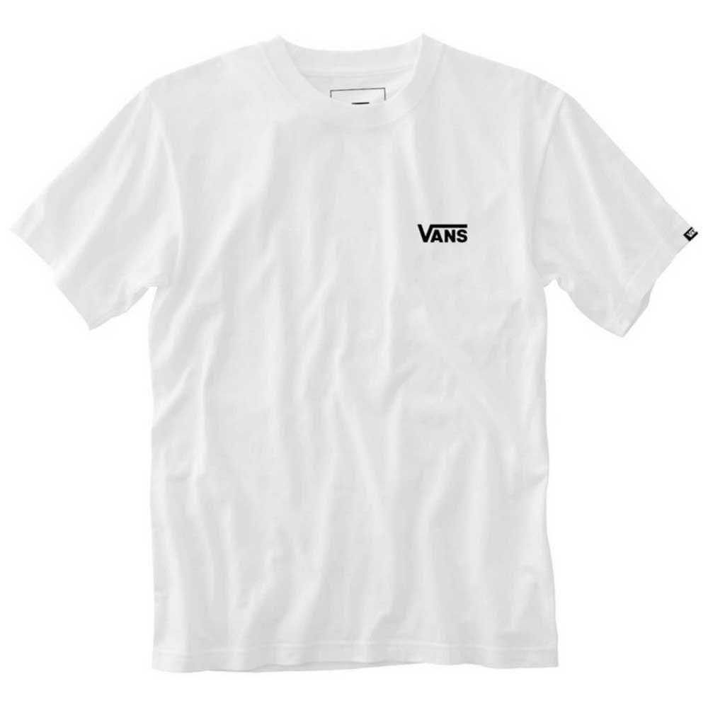 Vans Left Chest Logo XS White / Black