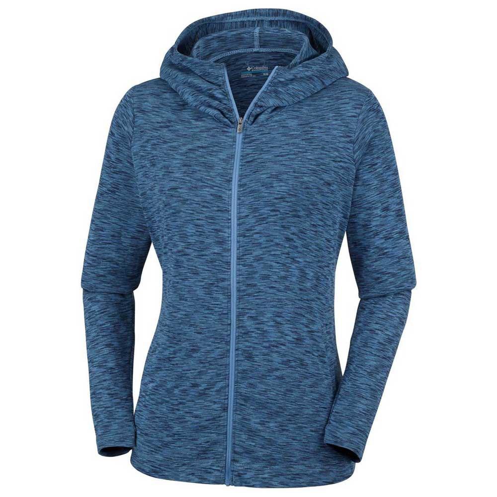 Femme Columbia Montagne Outerspaced Sweatshirts Bleu Vêtements TxnwH7xXUq