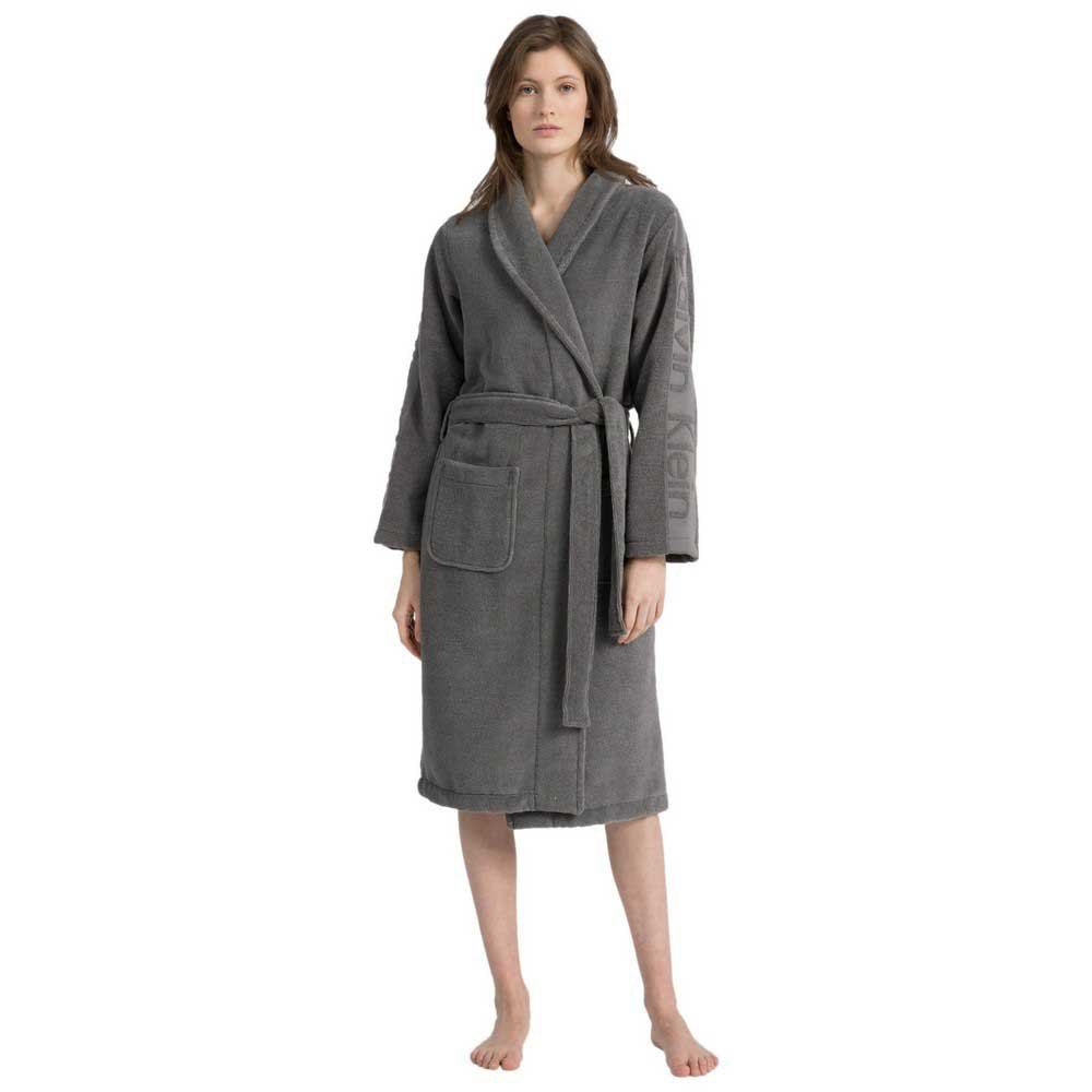 Calvin Klein Underwear Terry Robe XS-S Grey