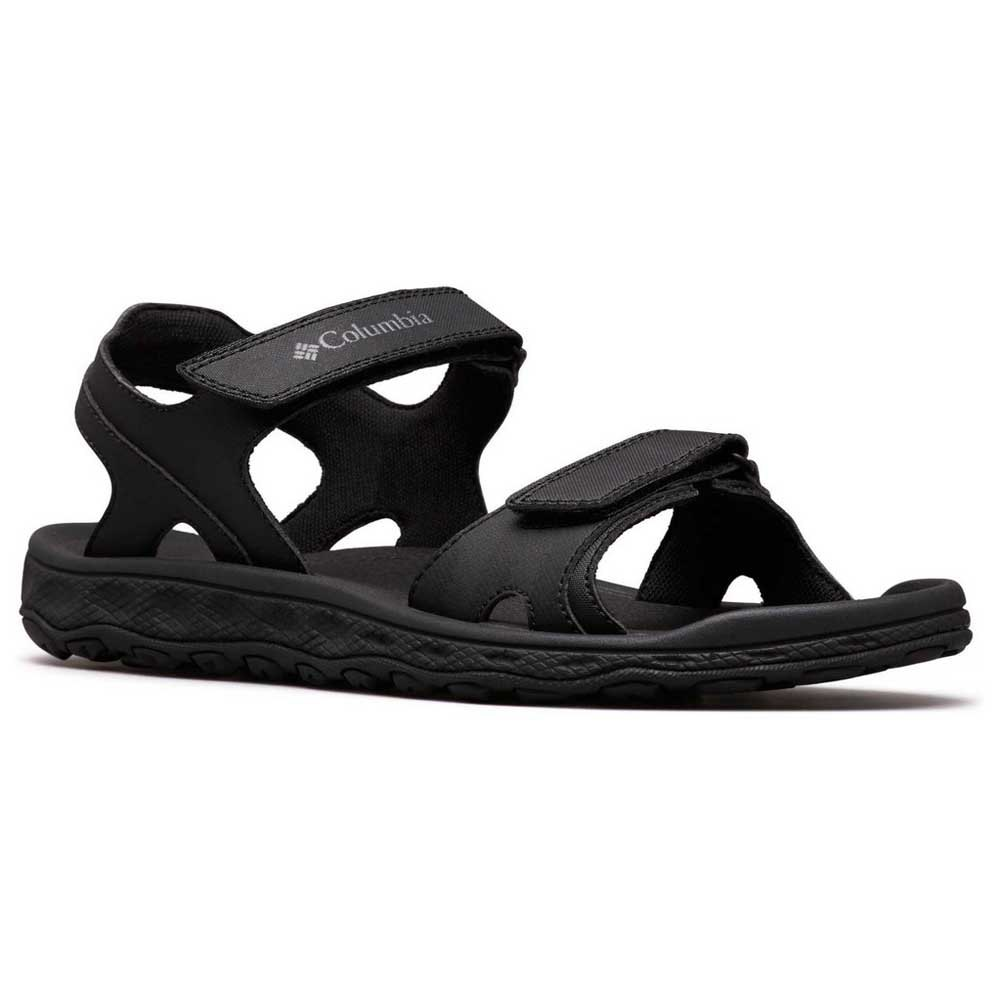 Columbia Buxton 2 Strap Black , Sandals Columbia , outdoor , Men´s shoes