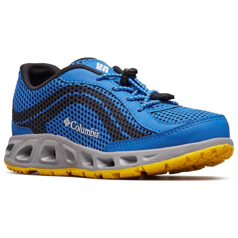 columbia-drainmaker-iv-children-eu-36-stormy-blue-deep-yellow, 39.49 EUR @ waveinn-deutschland