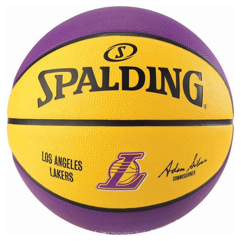 Spalding Nba Los Angeles Lakers 7 Multicolor