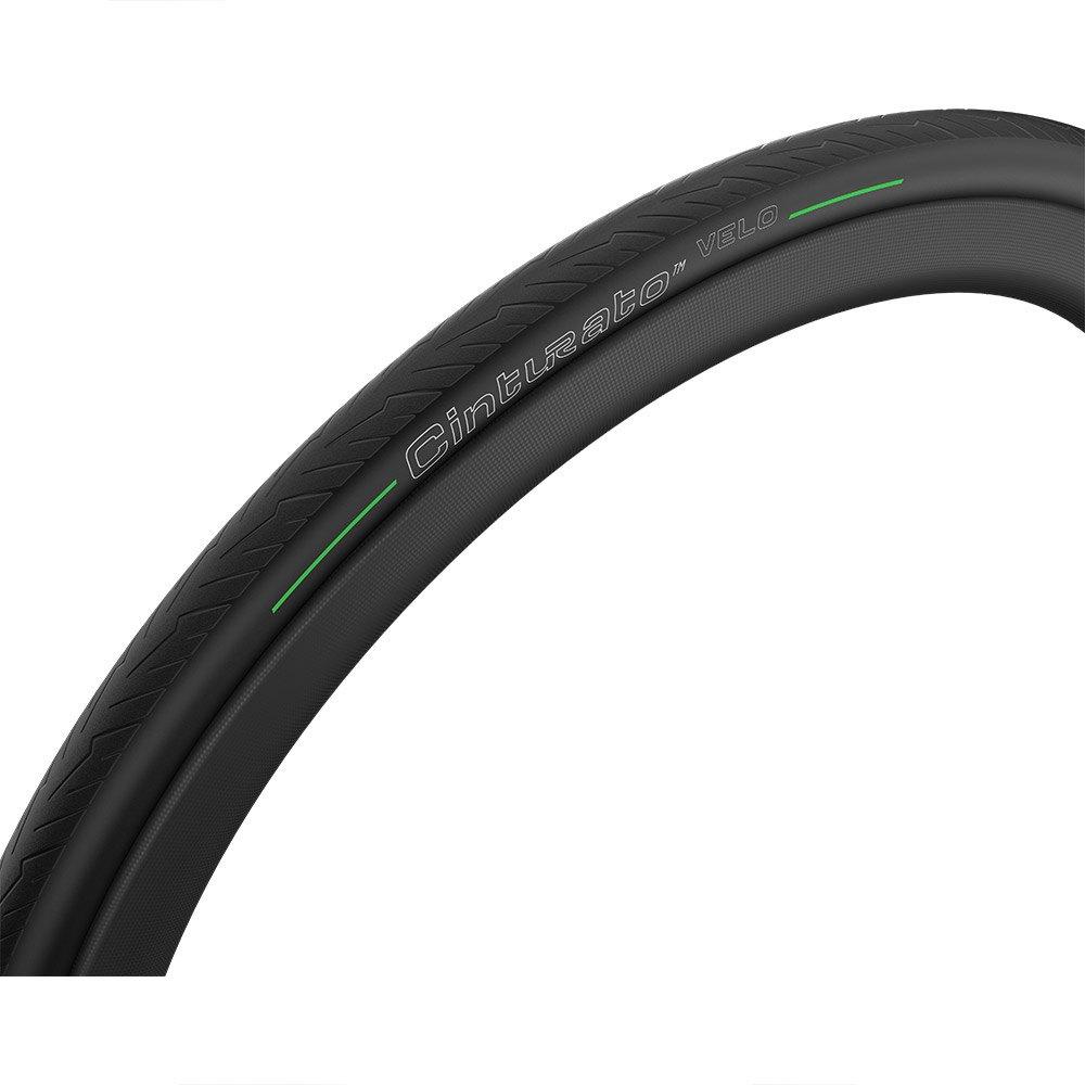 Pirelli Copertone Strada Cinturato Velo Tlr Tubeless 700 x 26C Black / Green