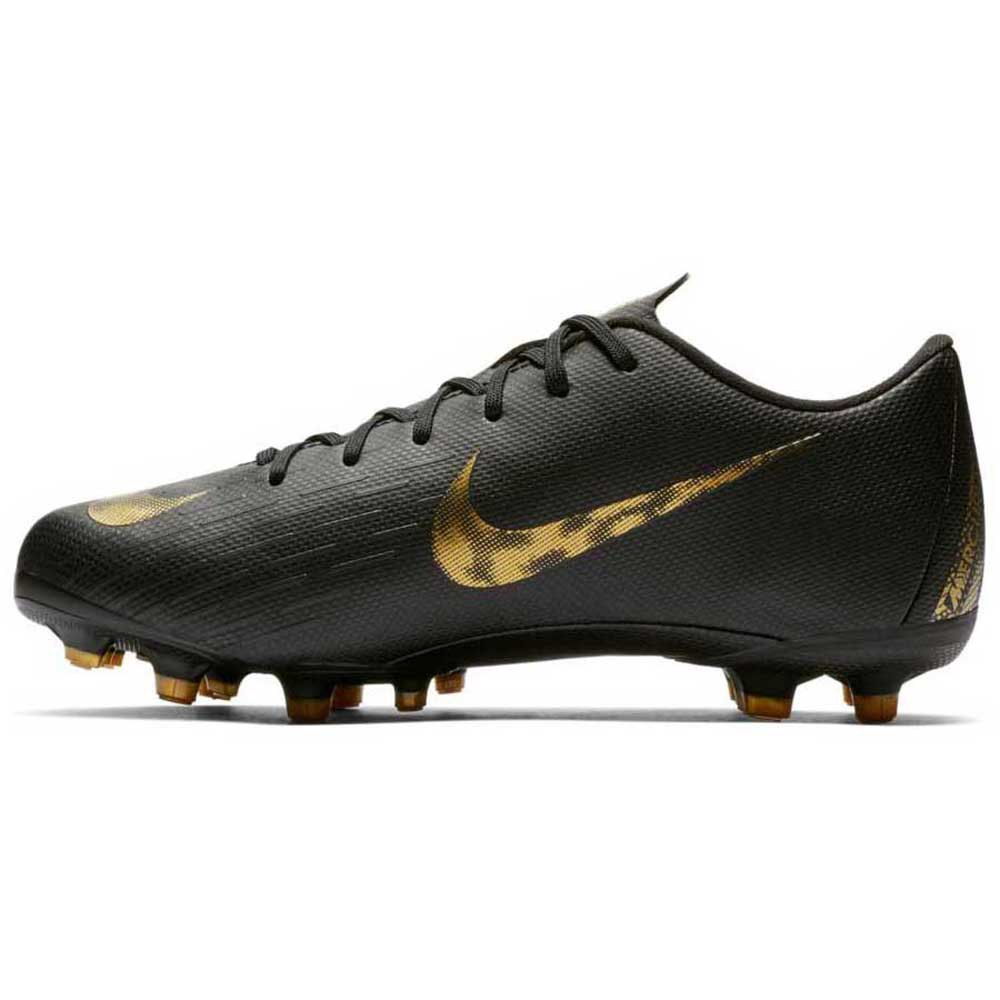 e107db930 Nike Mercurial Vapor Xii Academy Gs Fg/mg Black Golden T88871 ...