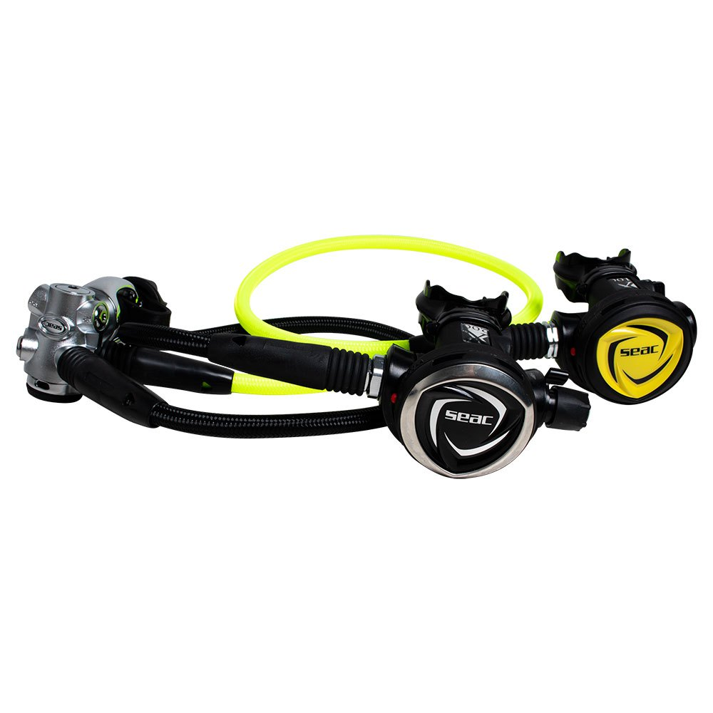 Seacsub Set Dx200 nero     giallo , SET erogatori Seacsub , immersione 2bbbdb