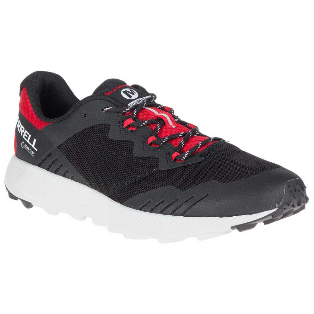 Merrell Fluxion Goretex EU 46 Black / Red