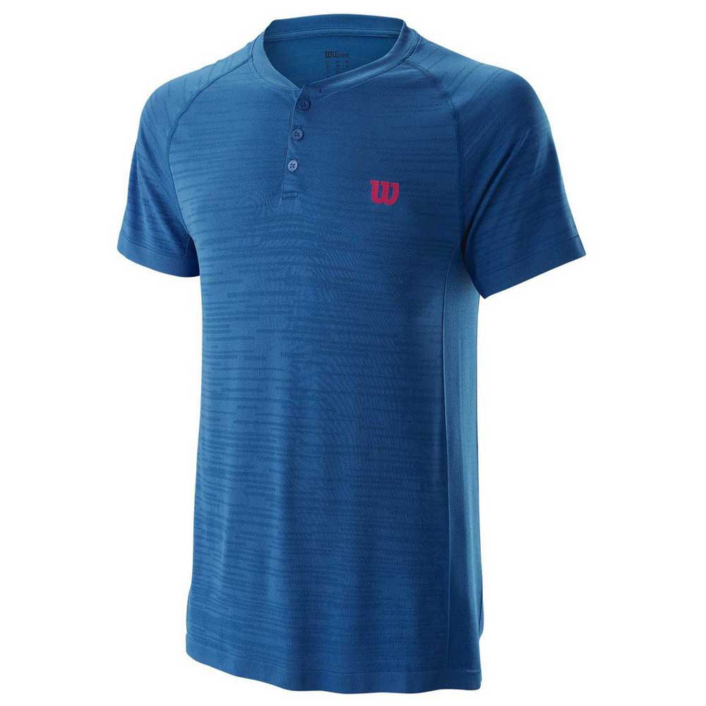 Wilson Competition Seamless Henley S Imperial Blue