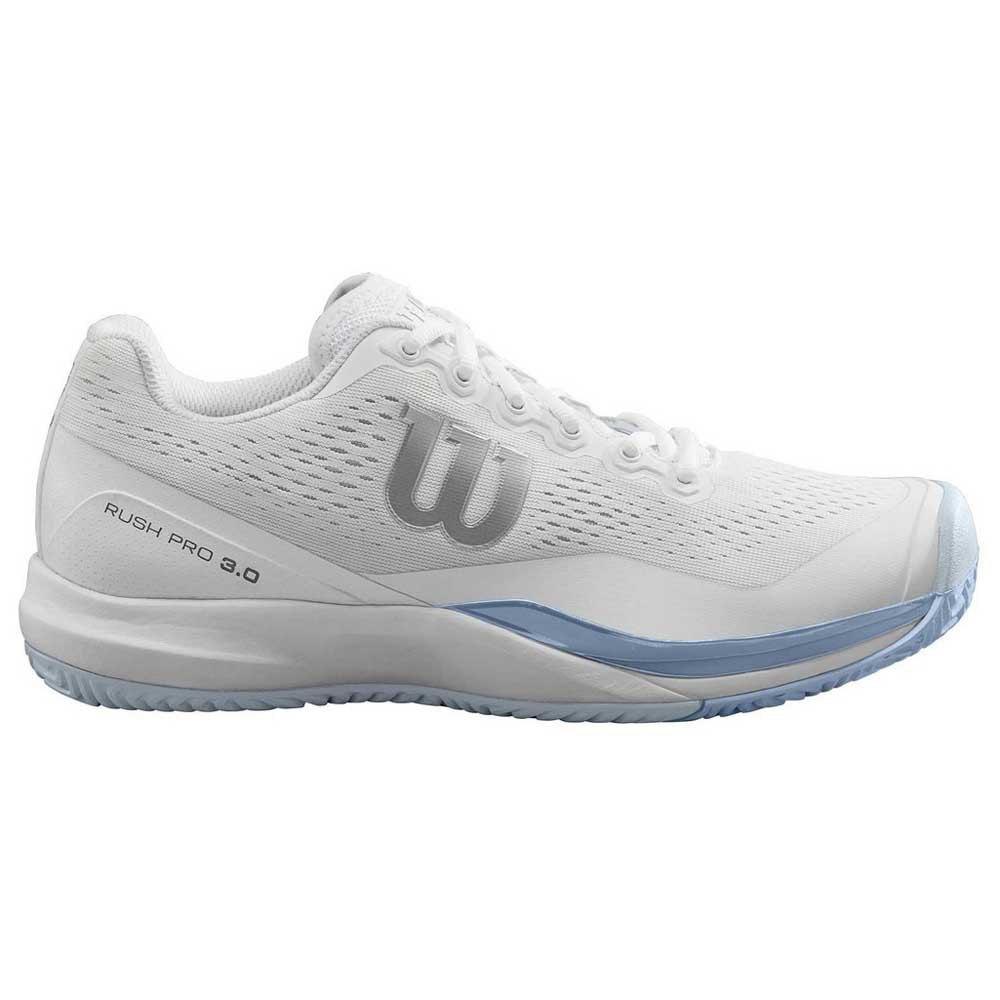 Wilson Rush Pro 3.0 EU 40 2/3 White / Cashmere Blue / Illusion Blue