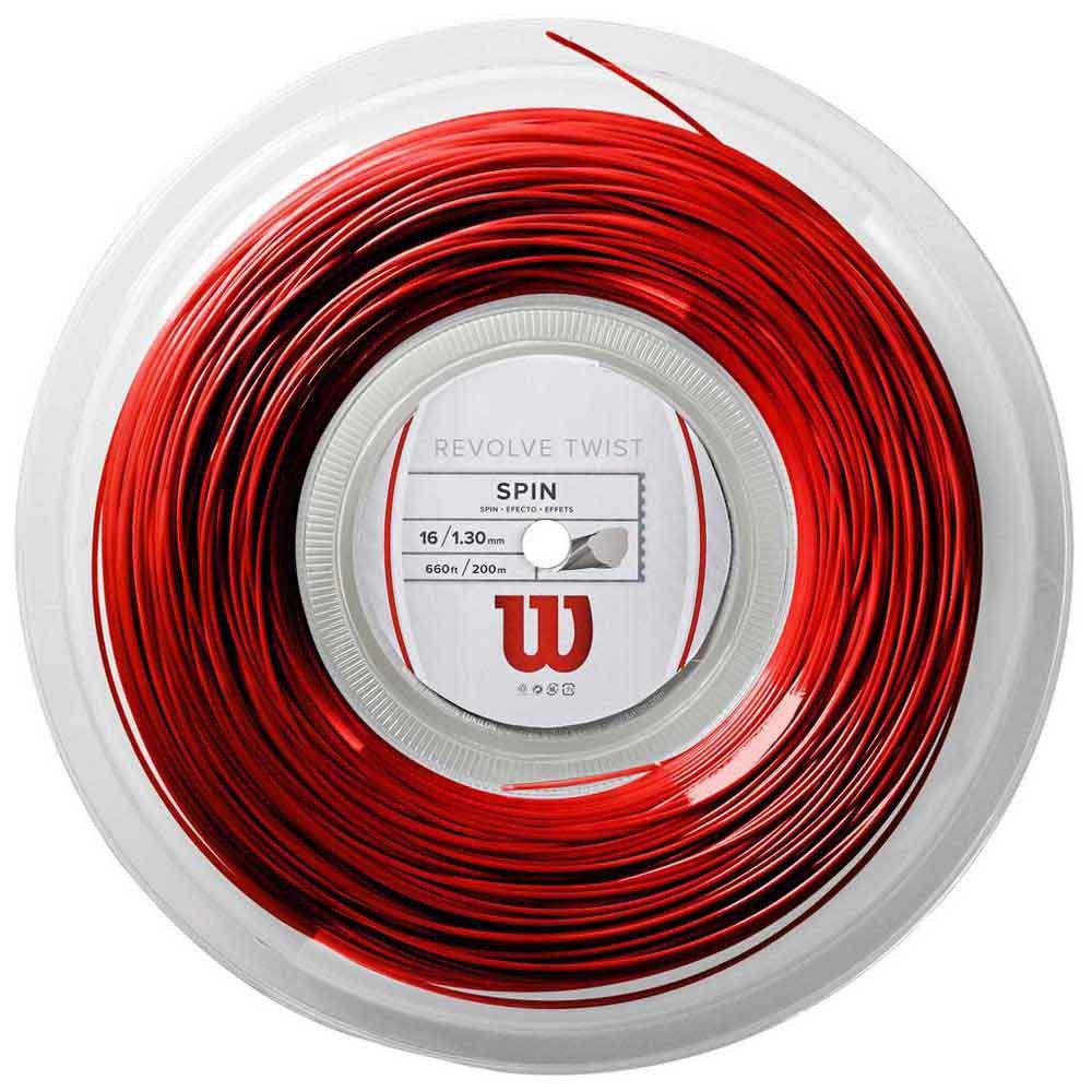 Wilson Revolve Twist 200 M 1.30 mm Red