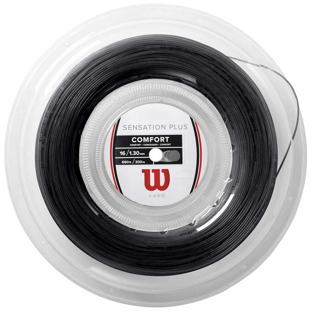 Wilson Sensation Plus 200 M 1.34 mm Black