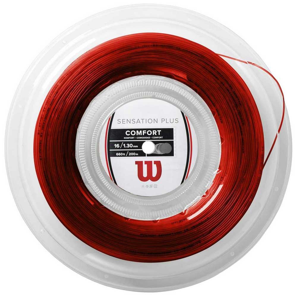 Wilson Sensation Plus 200 M 1.34 mm Red