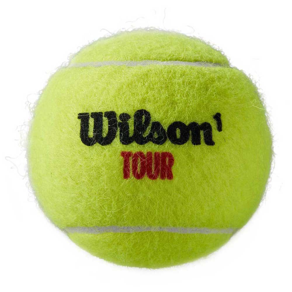 Wilson Tour Premier Clay 4 Balls Black / Gold