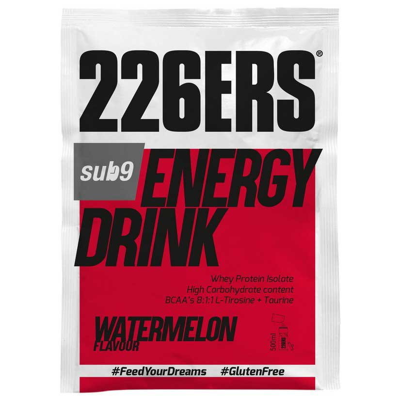 226ers Energy Drink Sub-9 50g 15 Units Watermelon
