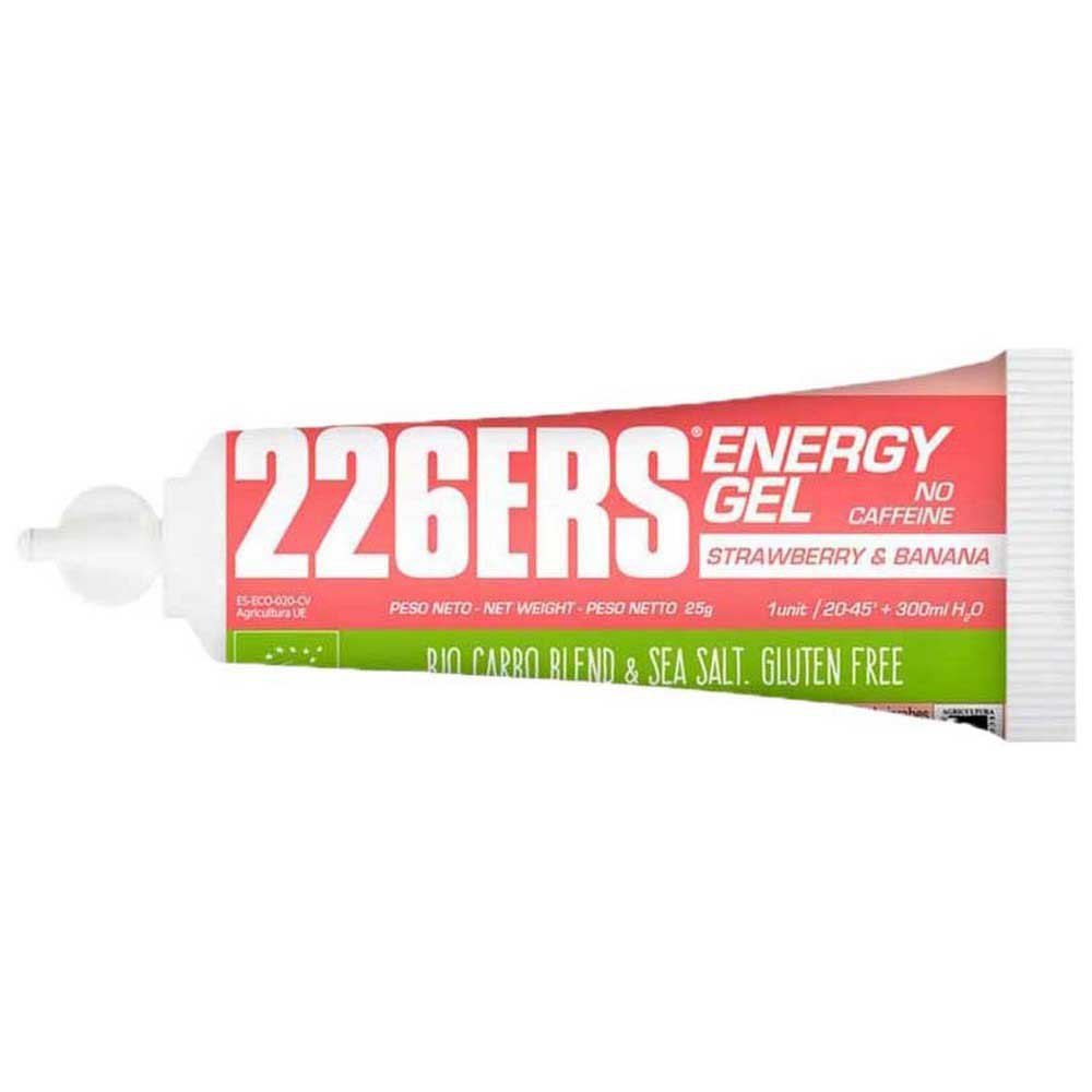 226ers Energy Gel Bio 25g 40 Units Strawberry / Banana