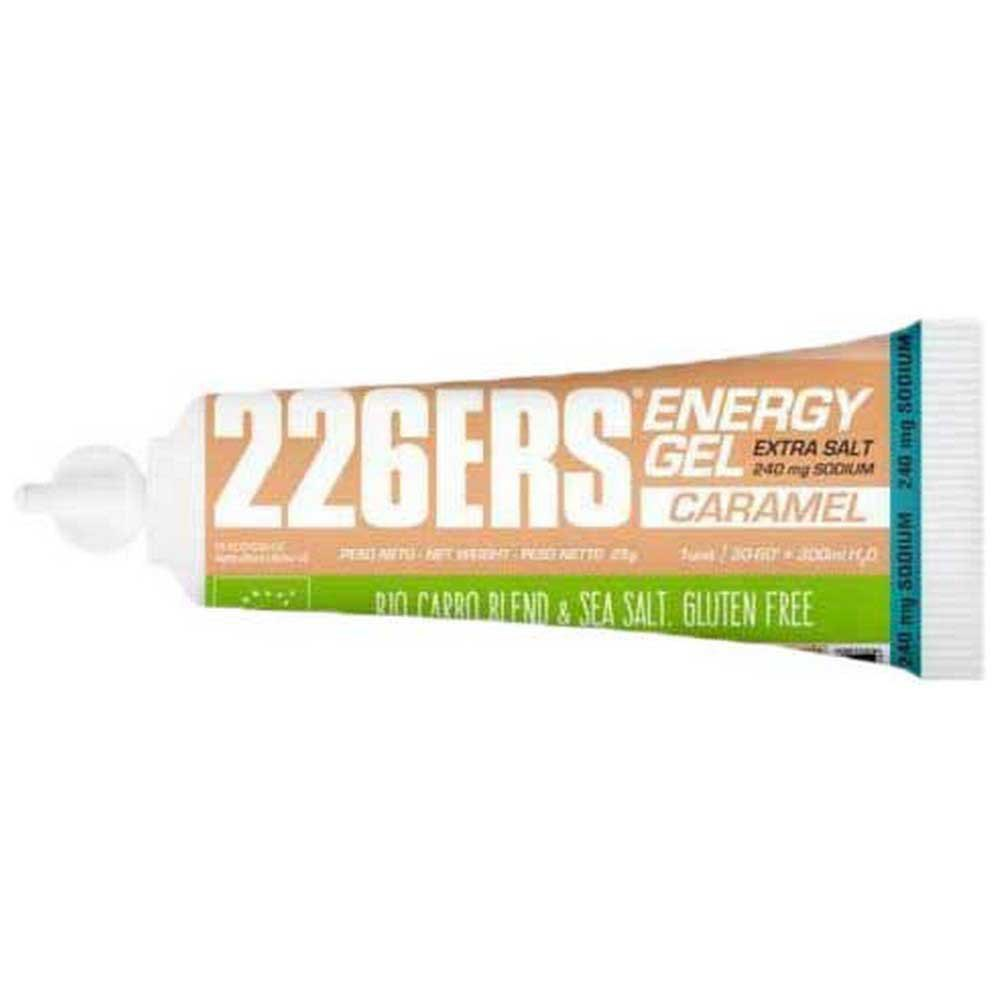 226ers Energy Gel Bio 25g 40 Units Caramel